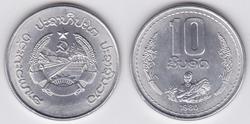 Laos 10 att 1980