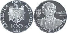 Moldova 100 lei Neaga 2000