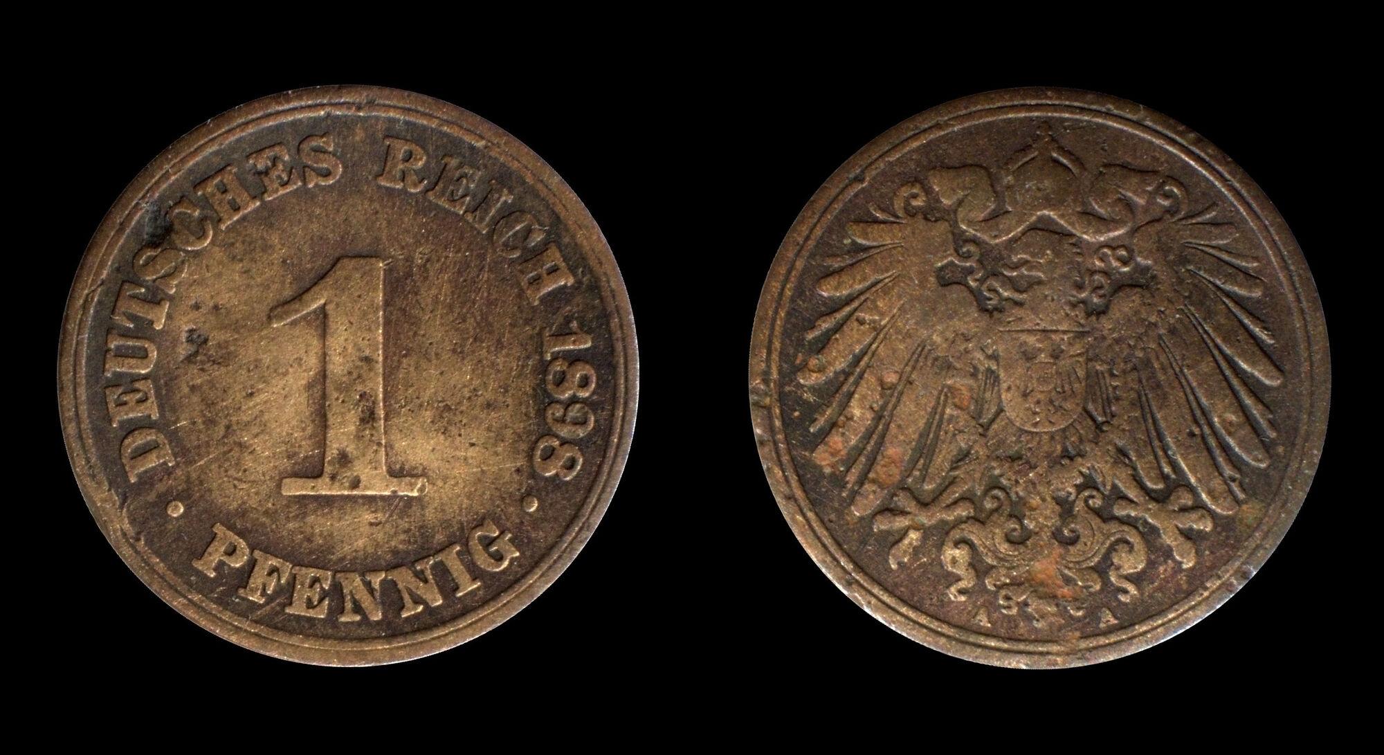 Wert Münzen Deutsches Reich
