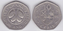 A coin obverse and reverse