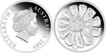 Australia 1 cent 2009 pattern commem
