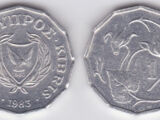 Cypriot ½ cent coin
