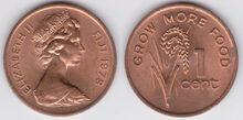 Fiji 1 cent 1978 FAO