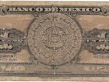 Mexican 1 peso banknote