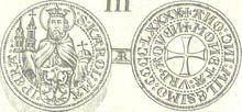 Aachen groschen 1490