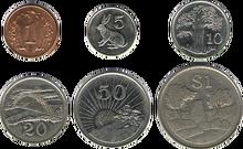 Zimbabwe coins rev