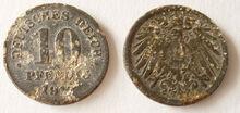 10 Pfennig 191x zinkpest