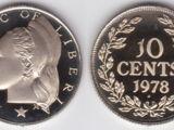 Liberian 10 cent coin