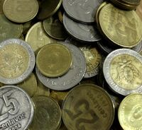 Monedas argentinas