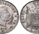 Italian 5 lira coin (Napoleonic Kingdom of Italy)
