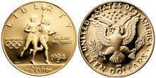 1984 Olympics USD-W