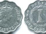 Belizean 1 cent coin