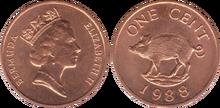 Bermuda 1 cent 1988