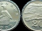 Zimbabwean 20 cent coin