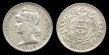 Portugal 1 escudo 1915