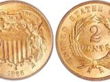 United States 2 cent coin