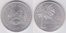 Guinea-Bissau 50 centavos 1977