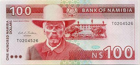 Namibian 100 Dollar Banknote Currency Wiki Fandom Powered By Wikia