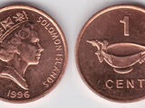 Solomon Islands 1 cent coin