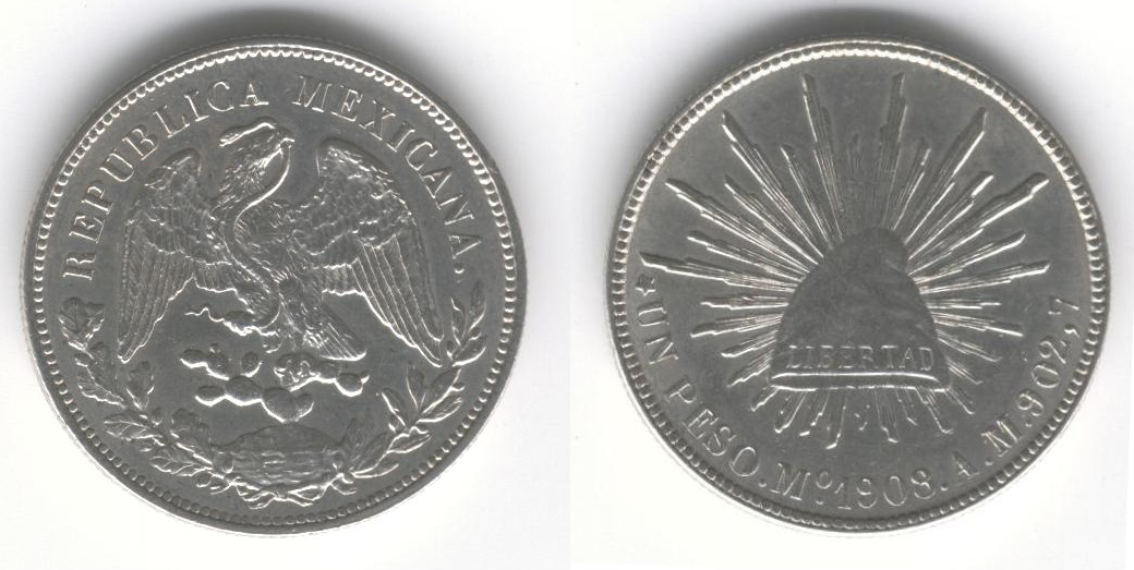 Mexican 1 Peso Coin Currency Wiki Fandom Powered By Wikia