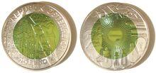 Austria 25 euro Welsbach (2008)