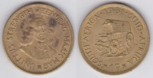 South Africa 1 cent 1961