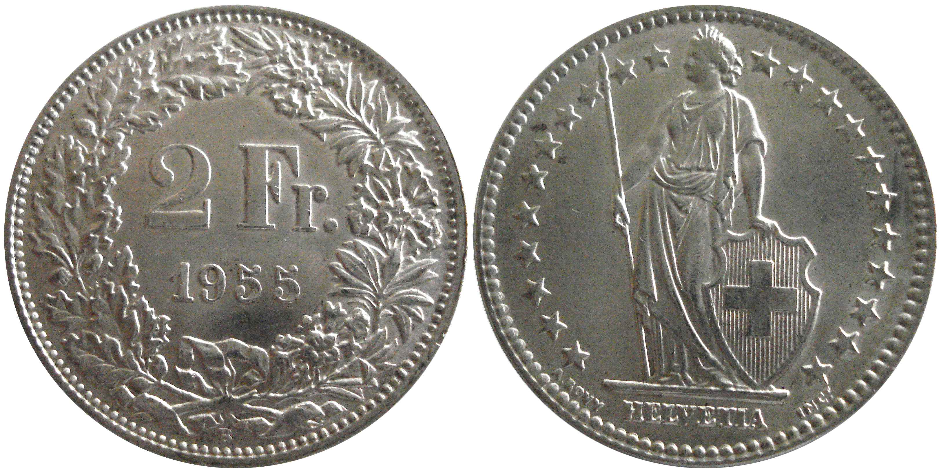 Swiss 2 Franc Coin Currency Wiki Fandom Ed By Wikia