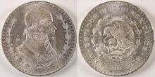 Un peso 1958 Mexico