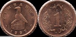 Zimbabwe cent 1997