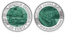 Austria 25 euro railway (2004)