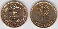 Portugal 1 escudo 2000 2