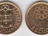 Portuguese 1 escudo coin