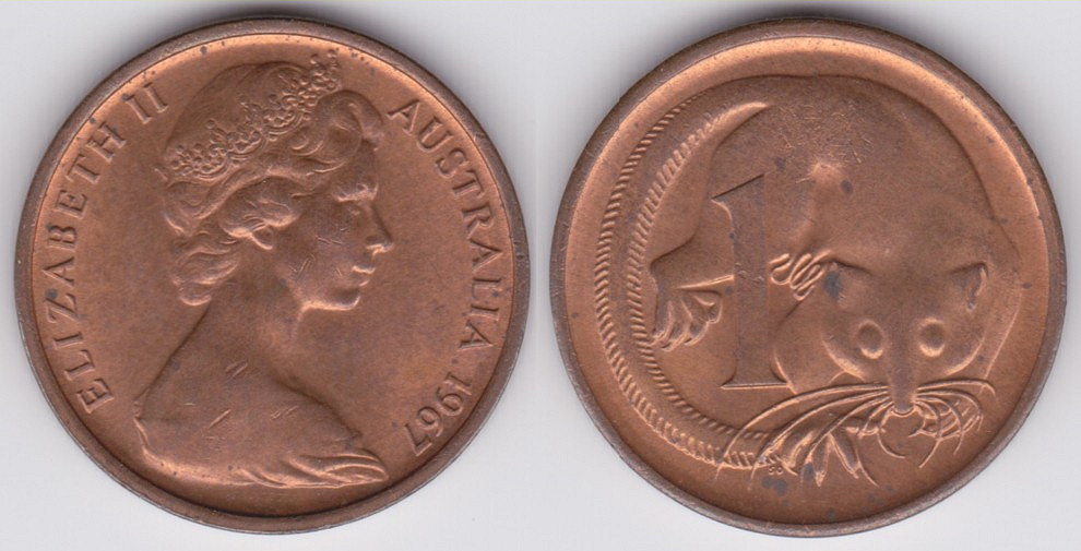 Australian 1 Cent Coin Currency Wiki Fandom Powered By