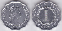 Belize 1 cent 1983