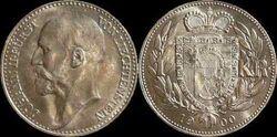 Liechtenstein 1 krone 1900