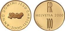 Swiss 100 fr Christianity