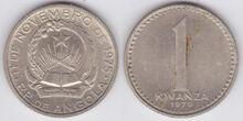 Angola 1 kwanza 1979