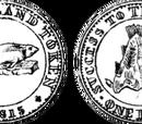 Magdalen Islands 1 penny coin