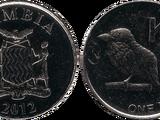 Zambian 1 kwacha coin