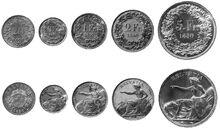 Schweizer Franken 1850