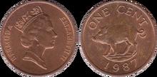 Bermuda 1 cent 1987