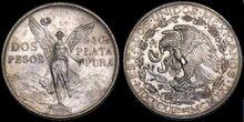 Mexico 2 pesos 1921