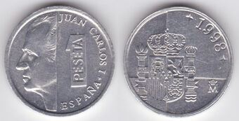 Spanish 1 Peseta Coin Currency Wiki
