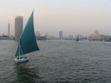 Nil in Cairo
