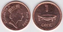 Fiji 1 cent 2006
