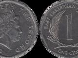 East Caribbean 1 cent coin