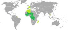 Franc map
