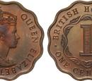 British Honduran 1 cent coin