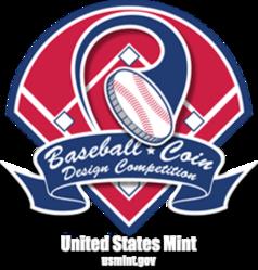 Baseball Coin Design Competition logo