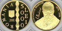 Romania 5000 lei 2001 Brancusi